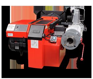 Modulerande brännare som finns i versioner 500 - 3200 kW